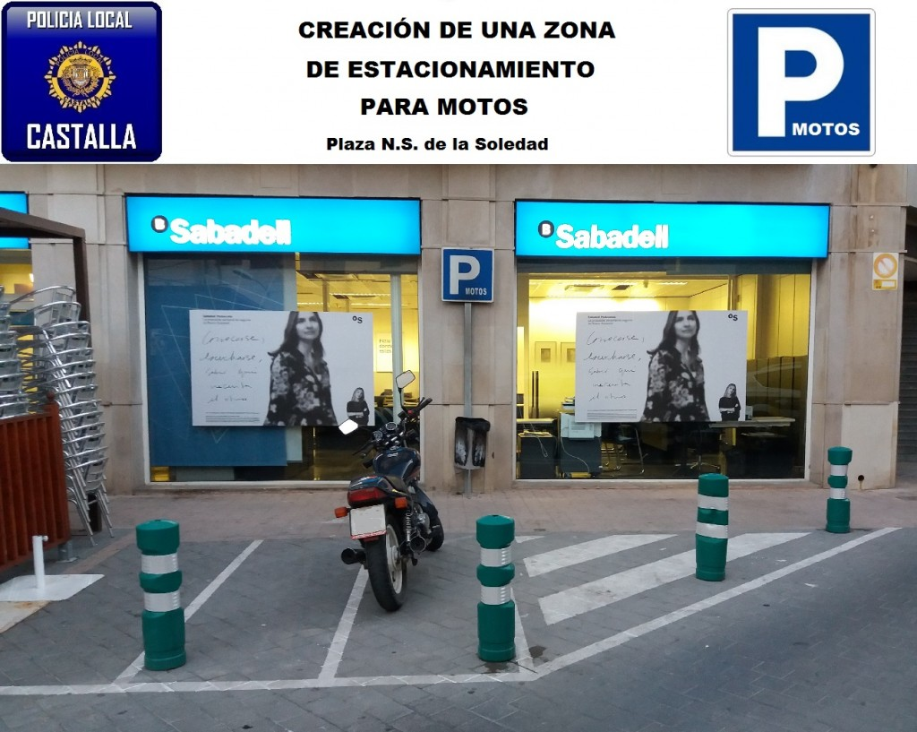 ESTACIONAMIENTO MOTOS PLAZA NS SOLEDAD